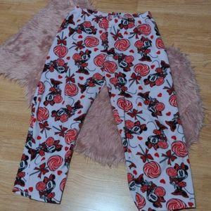 🔥2/15🔥🍭🎀Minnie Mouse Pajama Pants 🎀🍭